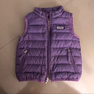 12 month Patagonia Down Sweater Vest